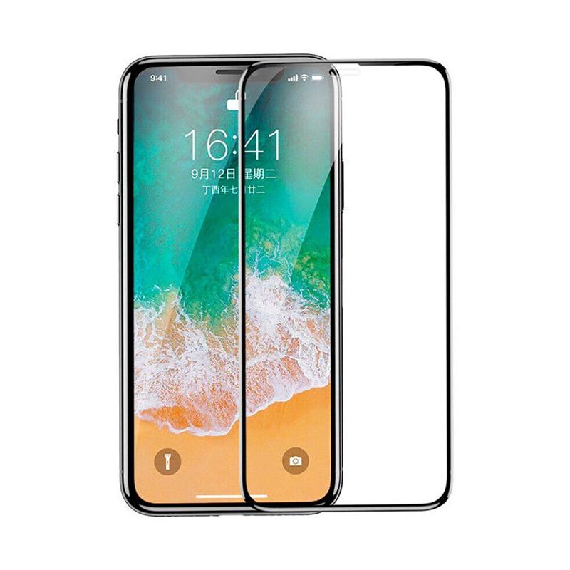 Захисне скло Glass iPhone X, XS, 11 Pro Full Glue black