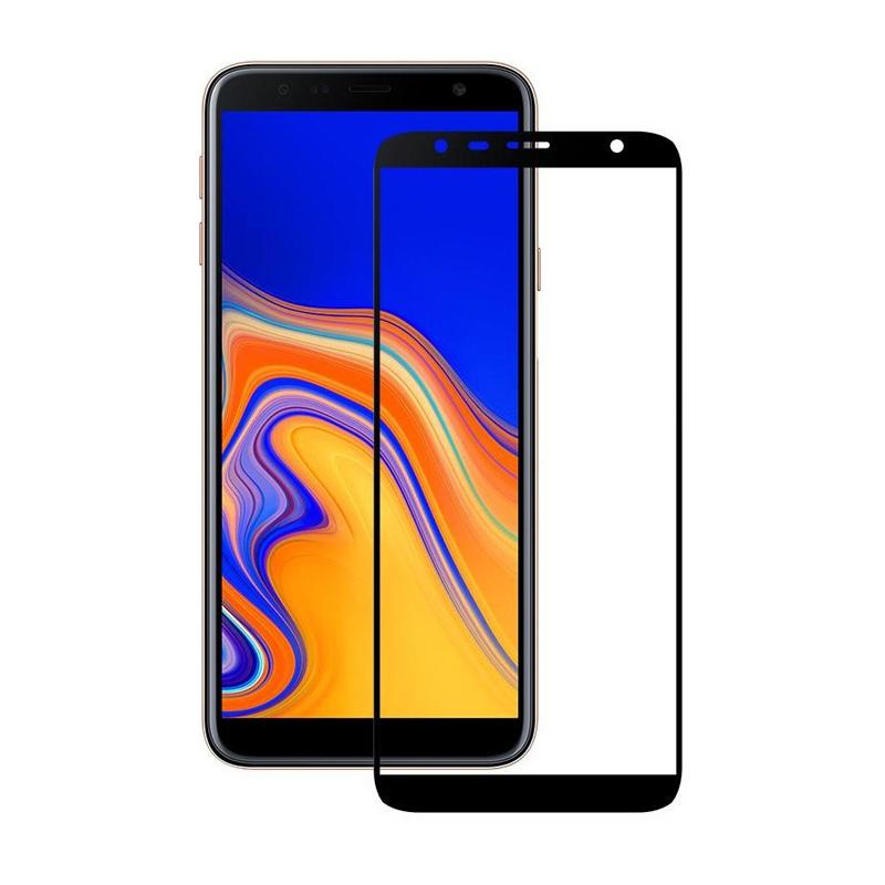 Захисне скло Glass Samsung J415 Galaxy J4 Plus 2018, J610 Galaxy J6 Plus 2018 Full Glue black