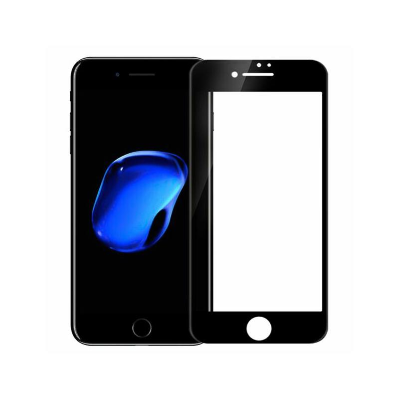 Захисне скло Glass iPhone 7, 8, SE 2020 Full Glue black