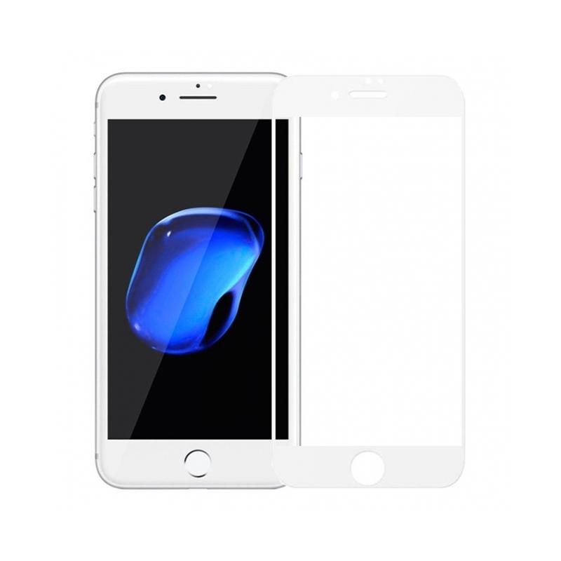 Захисне скло Glass iPhone 7, 8, SE 2020 Full Glue white