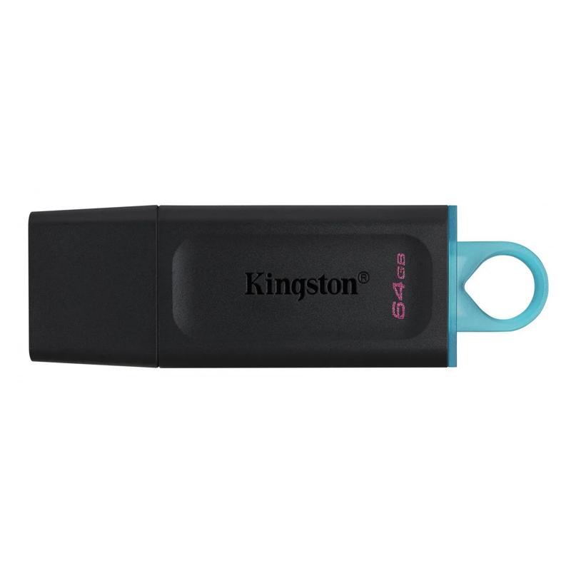 USB флеш 64 Гб Kingston Exodia USB 3.2 black teal