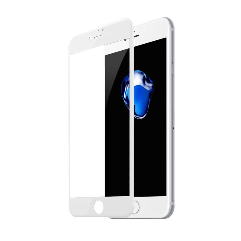 Захисне скло Glass iPhone 7 Plus, 8 Plus Full Glue white