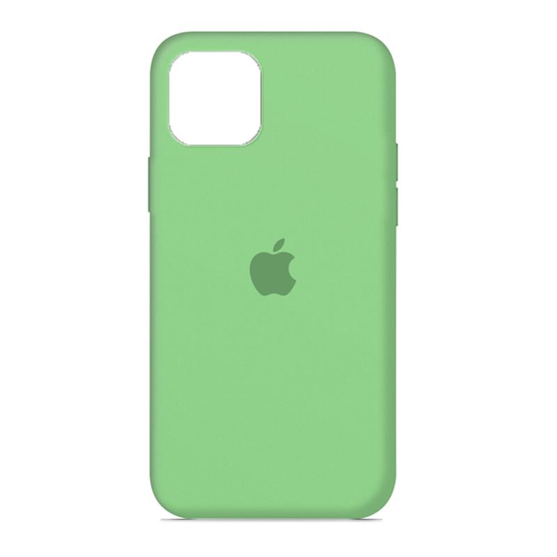 Накладка Original Silicone Case iPhone 11 (31 green) Full
