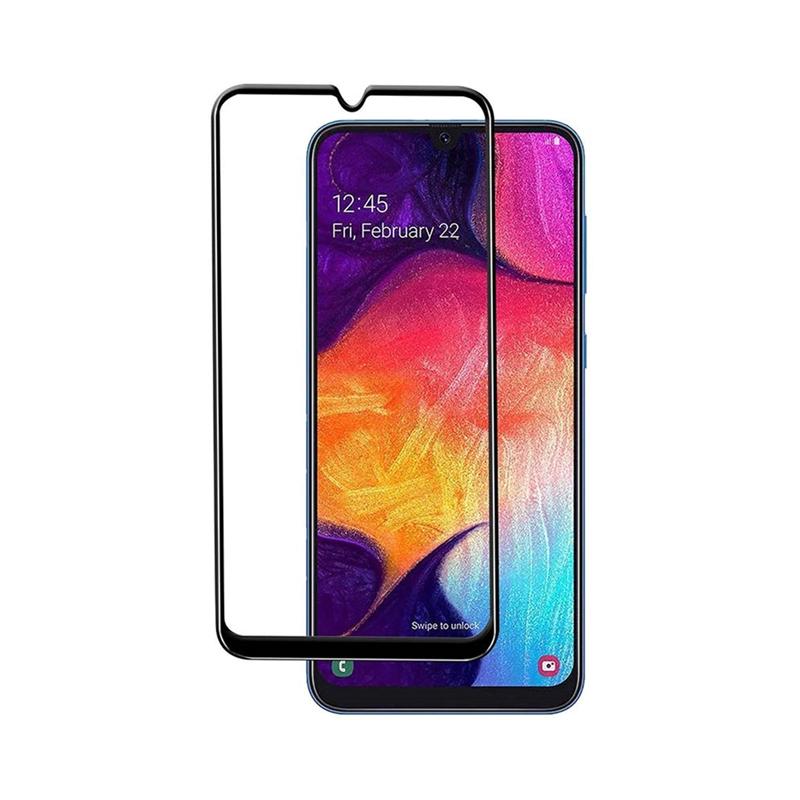 Захисне скло Glass Samsung A50, A50S, A30s, M30S Full Glue black