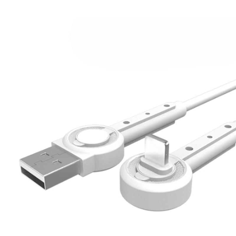 USB кабель Moxom MX-CB01 Lightning white