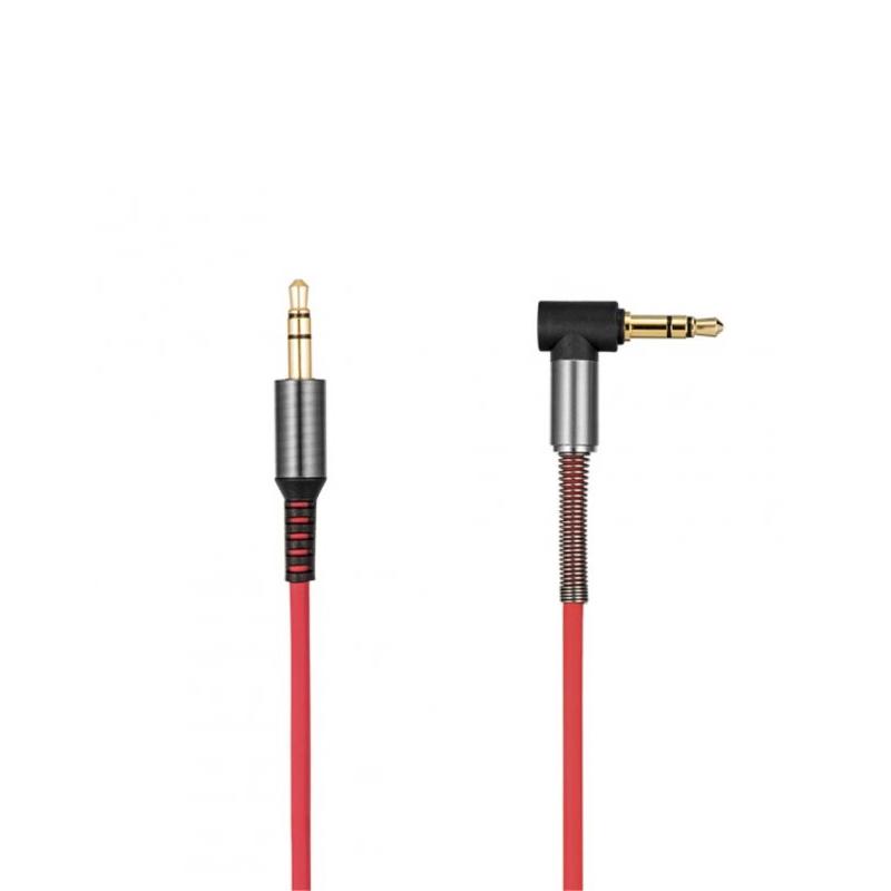 Аудіо-кабель Hoco UPA-02 AUX 3.5 мм red
